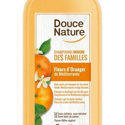 Shampoing douche fleurs d'oranger